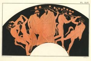 Лозата и виното през историята в Елада