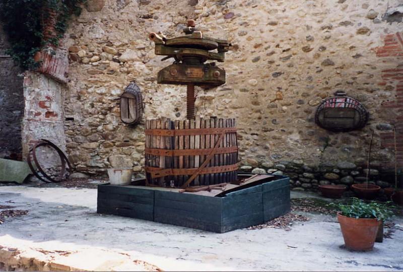 wine _press
