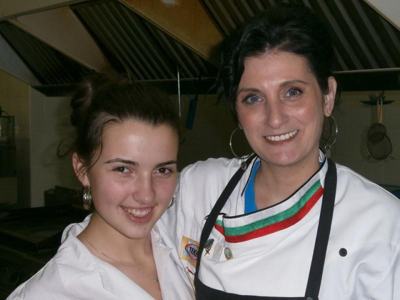 Kristina Iordanova i shef Elena Malcheva - 18.2.14g.