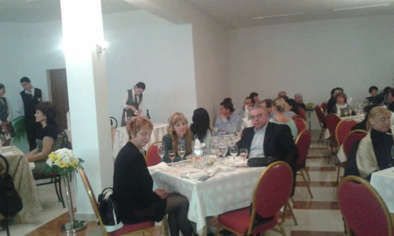 Wine Dinner in Sliven on 03/04/2014