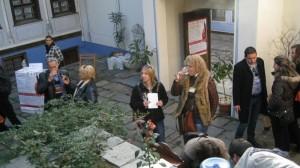 """"""" Дефиле на младото вино в Стария Пловдив """" – 2013"""